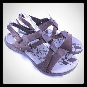 Bracken Merrill sport sandals brown size 8